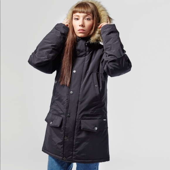 Carhartt WIP Oversized Anchorage Hooded Parka Jacket With
